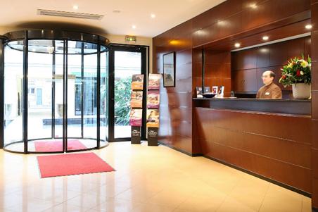 Citadines opera grands boulevards paris paris serviced for Appart hotel vendome
